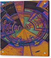 Aztec Abstract Acrylic Print