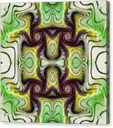 Aztec Art Design Acrylic Print