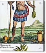 Aztec: Chocolate, 1685 Acrylic Print