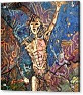 Aztec Cosmogony Acrylic Print