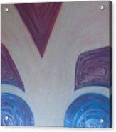 Aztec Map 6 Acrylic Print
