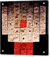 Aztec Nuclear Furnace Acrylic Print