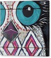 Aztec Owly Acrylic Print
