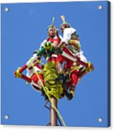 Aztec Tradition Acrylic Print