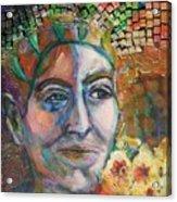Aztec Woman Acrylic Print