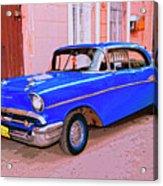 Azul Cobalto Acrylic Print