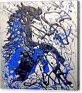 Azul Diablo Acrylic Print