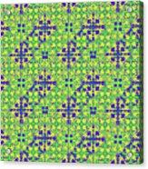 Azulejos Magic Pattern - 08 Acrylic Print