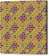 Azulejos Magic Pattern - 09 Acrylic Print