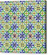Azulejos Magic Pattern - 11 Acrylic Print