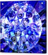 Azure Orb Of Midas Acrylic Print