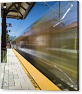 Azusa Downtown Metro Station Acrylic Print