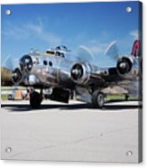 B-17 Flying Fortress, Yankee Lady Acrylic Print