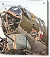 B-17 Texas Raiders Acrylic Print