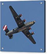 B-24j Liberator Wwii Fighter Acrylic Print