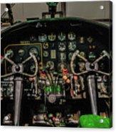 B-25 Mitchell Cockpit Acrylic Print