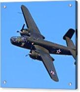 B-25 Mitchell, Doolittle Raiders Acrylic Print