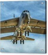 B-52 Departure Color Acrylic Print