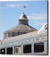 B And O Railroad Museum In Baltimore Maryland Acrylic Print