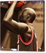 B Ball Acrylic Print