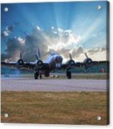 B17 Landing Acrylic Print