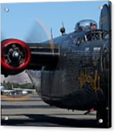 B24 Liberator Ready To Taxi Memorial Day Weekend 2015 Acrylic Print