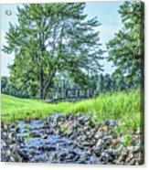 Babbling Creek Acrylic Print