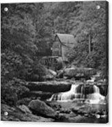 Babcock Grist Mill Acrylic Print