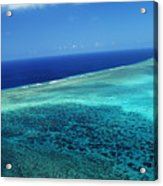 Babeldoap Islands Acrylic Print