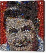 Babr Ruth Puzzle Piece Mosaic Acrylic Print