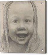 Baby 2 Portrait Acrylic Print