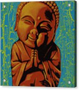 Baby Buddha Acrylic Print