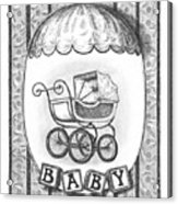 Baby Carriage Acrylic Print