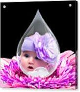 Baby Dewdrop Acrylic Print