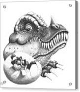 Baby Dinosaur Acrylic Print