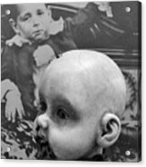 Baby Face Acrylic Print
