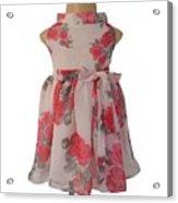 Baby Girl Dresses Dresses For Girls - Faye Acrylic Print