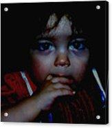 Baby Girl Acrylic Print
