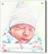 Baby James Acrylic Print