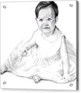 Baby Jane Acrylic Print