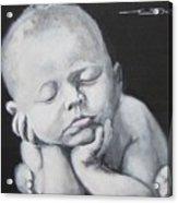Baby Nap Acrylic Print