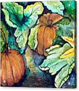 Baby Pumpkins Acrylic Print