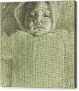 Baby Self Portrait Acrylic Print