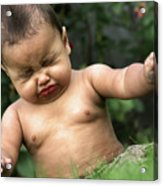 Baby Sneeze Acrylic Print