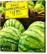 Baby Watermelons Acrylic Print