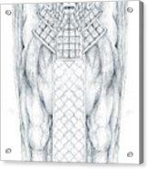 Babylonian Sphinx Lamassu Acrylic Print