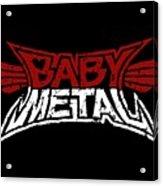 Babymetal Acrylic Print
