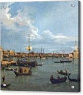 Bacino Di San Marco From Canale Della Giudecca Acrylic Print
