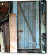 Back Corner Closet Acrylic Print