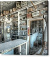 Back In 5 - The General Store, Bodie Ghost Town Acrylic Print